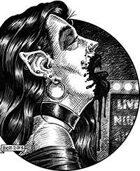Clipart Critters 353 - Pierced Vampiress
