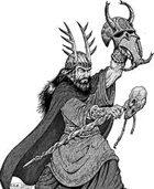 Clipart Critters 355 - Talismanic Shaman