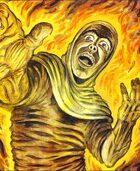 Clipart Critters 358 - Fiery Phantasm