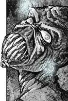 Clipart Critters 385 - Modern Punk Demon