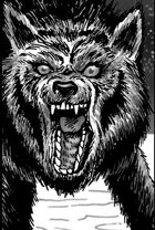 Clipart Critters 387 - Dire Wolf