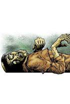 Clipart Critters 391 - Dead Villager