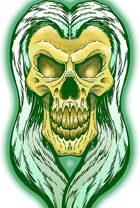Clipart Critters 392 - Phantom Skull