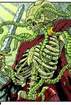Clipart Critters 400 - Skeletal Warrior