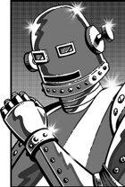 Clipart Critters 401 - Retro Robot
