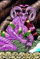 Clipart Critters 410 - Infernal Seductress
