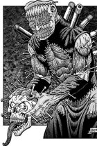 Clipart Critters 413 - Macabre Demon