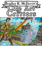 Clipart Critters 418 - Fantasy Combat