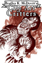 Clipart Critters 423  -Reanimated Hand