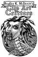 Clipart Critters 437 - Punk Naga