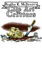 Clipart Critters 440 - Modern Horror Mask