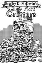 Clipart Critters 447 - Fantasy Treasure Pile