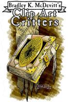 Clipart Critters 448 - Human skin Grimoire