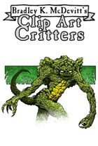 Clipart Critters 449 - Troglodyte