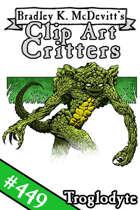 Clipart Critters 449 - Troglodyte