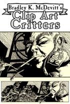 Clipart Critters 450 - Cyberpunk Street Scene
