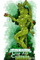 Clipart Critters 451 - Pagan Goddess Statue