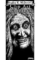 Clipart Critters 452 - Cackling Witch