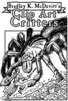 Clipart Critters 453  -Giant Spider