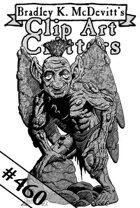 Clipart Critters 460 - Dwarven Pixie