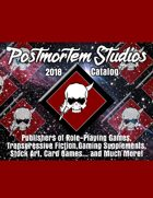 Postmortem Studios 2018 Product Catalog