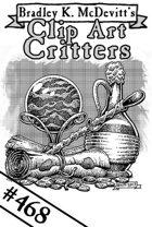 Clipart Critters 468 - Assorted Magic Treasure