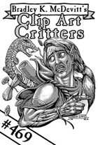Clipart Critters 469 - Dangerous Surprise