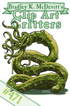 Clipart Critters 471 - Cthonian Wyrm