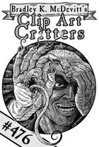 Clipart Critters 476 - Mutant Hand