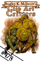 Clipart Critters 478 - Ogre Brothers