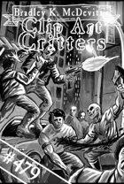 Clipart Critters 479 - Modern Street Gang Fight