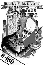 Clipart Critters 480 - Alien Invader