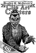 Clipart Critters 481 - Serpent Man