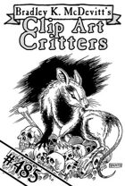 Clipart Critters 485 - Giant Rat