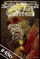 Clipart Critters 486 - Blind Bat Priest