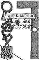 Clipart Critters 491 - Fantasy Border