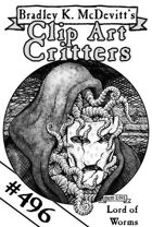 Clipart Critters 496 - Lord Of Worms