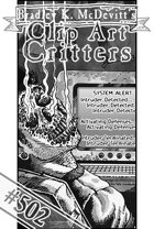 Clipart Critters 502 - Cyber Burn