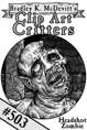 Clipart Critters 503 - Headshot Zombie