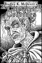 Clipart Critters 514- Headshot Village Wisewoman