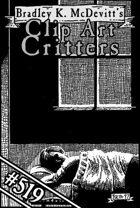 Clipart Critters 519 - Nocturnal Surveillance