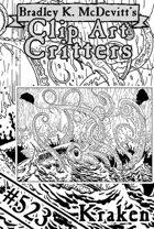 Clipart Critters 523 - Kraken