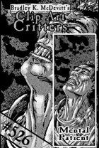 Clipart Critters 526 - Mental Patient
