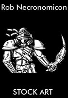 Stock Art - Rob Necronomicon - Post-Apocalyptic Warrior