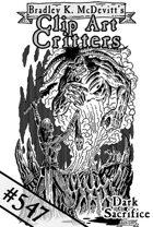Clipart Critters 547-Dark Sacrifice