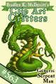 Clipart Critters 563- Generic Serpent Man