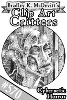 Clipart Critters 570-Cybernetic Horror