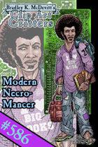 Clipart Critters 586 - Modern Necromancer