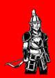 Stock Art - Rob Necronomicon - Mongol Looking Half-Elf or Hobgoblin