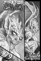 Clipart Critters 79 - Living Gargoyle